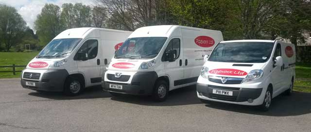 Our Pipewrorx Vans